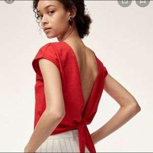 NWOT Wilfred shirt size xs